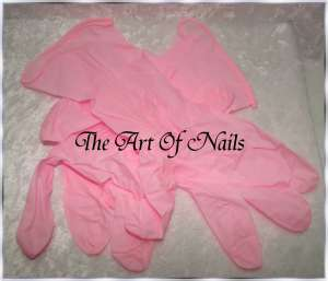 The Art Of Nails Nitril Handschuhe Pink 10 Stück